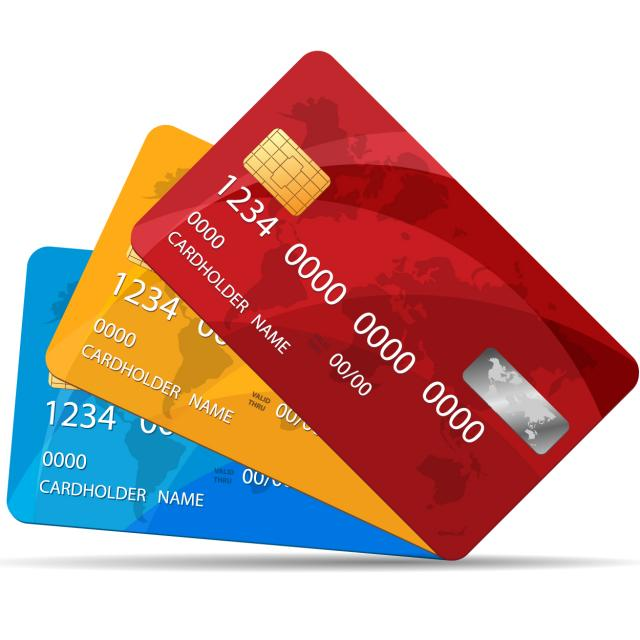 Role Play Credit Cards Debit Cards Poster: Lower Debit/Credit Card Fees For Village Payments